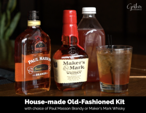 House-made Old Fashioned Kit